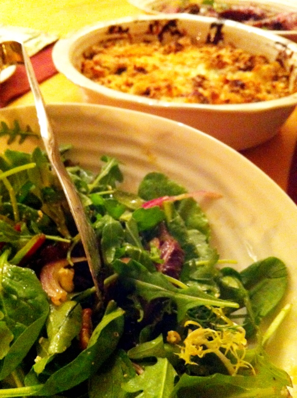 Salad and Gratin