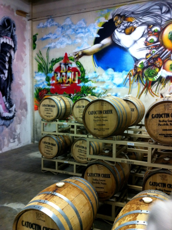 DC Brau Using Catoctin Creek Barrels!